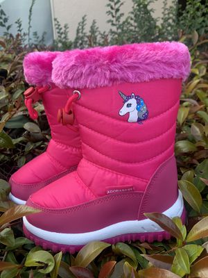 Snow boots for toddlers little girls sizes 6c, 7c, 8c for Sale in Bell, CA