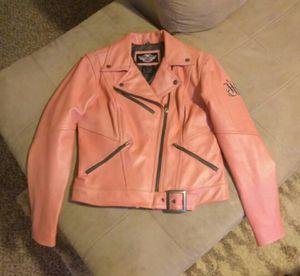 Ladies leather Harley-Davidson jacket for Sale in Watauga, TX