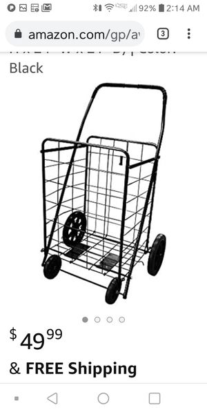 Grocery cart, laundry cart, book cart for Sale in Grand Prairie, TX