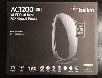 Wi-Fi Dual Band Router -Belkin AC1200 for Sale in San Bernardino,  CA