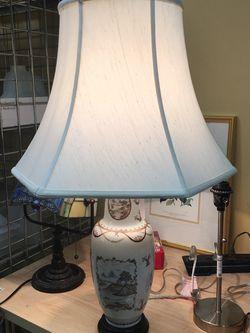 Antique Gold Porcelain Lamp for Sale in Bellevue,  WA