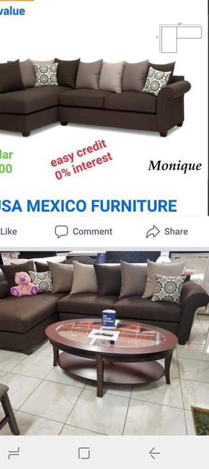 Brand new 2pc sectional made in the USA furniture sofa and loveseat also available C 63 for Sale in Claremont, CA