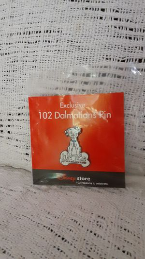 Unopened 102 Dalmatians pin from Disney store for Sale in North Royalton, OH