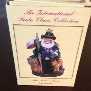The International Santa Claus Collection San Antonio $63 Santa which is part of the international santa claus collection 2008 it is in like new con for Sale in Gilbert, AZ