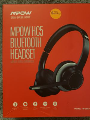 MPOW CH5 BLUETOOTH HEADSET for Sale in Baytown, TX
