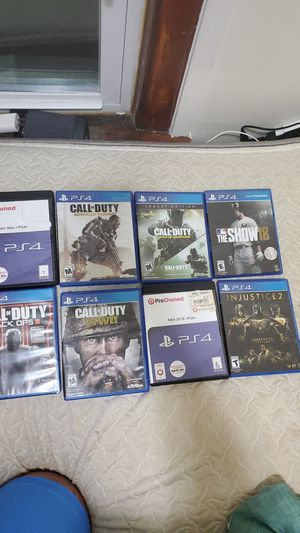 All 8 PS4 Games for Sale in Chicago, IL