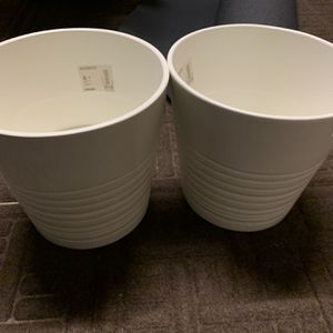 4 PLANT POTS BRAND NEW FROM IKEA for Sale in Washington, DC