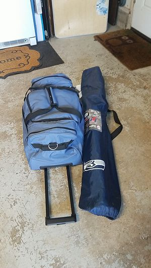 Duffle bag and chair for Sale in Lacey, WA