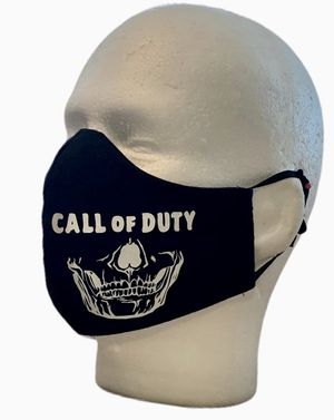 Handmade Masks Call of Duty. 100% Cotton. Hypoallergenic. Reusable. 5 Layers. Filter. for Sale in Orlando, FL