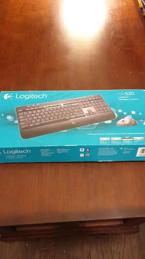 New never used mk520 keyboard and mouse for Sale in Maitland, FL