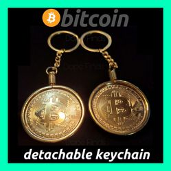🤑💵💹💰NEW BITCOIN DETACHABLE KEYCHAIN! 2×$20  REMOVABLE BITCOIN!💰💹💵🤑 for Sale in Ontario,  CA