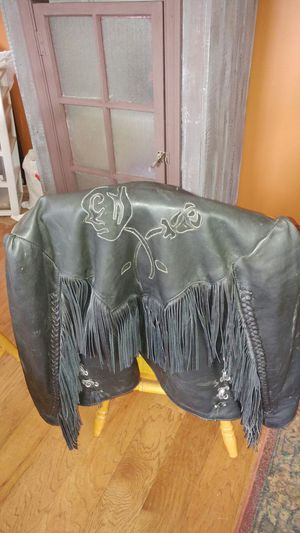 ladies leather jacket the size sm. for Sale in York, PA