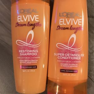 L'ORÉAL elvive dream lengths shampoo and conditioner set for Sale in San Bernardino, CA