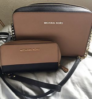 Michael Kors crossbody bag and wallet for Sale in Arvada, CO