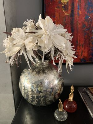 Vase and Flower Arrangement from Z Gallerie for Sale in Laguna Niguel, CA