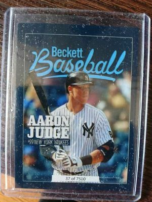 Aaron Judge beckett baseball card for Sale in Cicero, IL