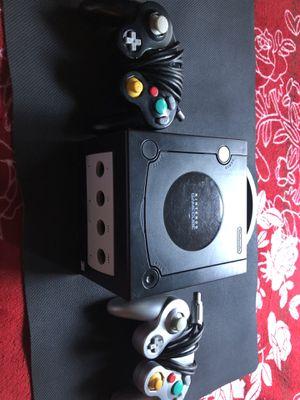Nintendo GameCube Console Black W Super Smash Bro's Melee for Sale in Los Angeles, CA