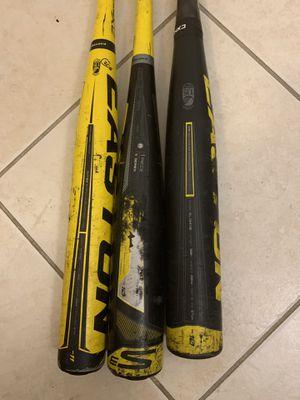 Baseball Easton bats (3) for Sale in Margate, FL
