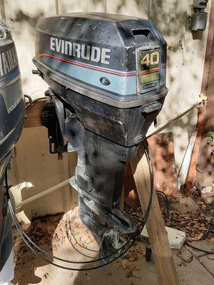 96 evinrude 40 two stroke for Sale in Alba, TX