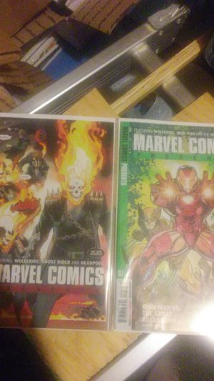 Marvel comics presents #6 First App of wolverine Daughter Rien 2 printing & #7 first printing....The covers so Beautiful for Sale in Amory, MS