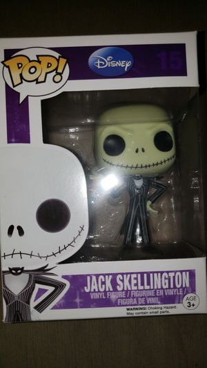 Funko Pop Nightmare before Christmas Jack Skellinton for Sale in Chicago, IL
