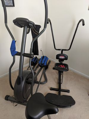 Elliptical and ab machine for Sale in Charlotte, NC