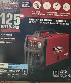125 Amp Weld-Pak 125 HD Flux-Cored Welder with Magnum 100L Gun, Flux-Cored Wire, 115V for Sale in Brooklyn,  NY