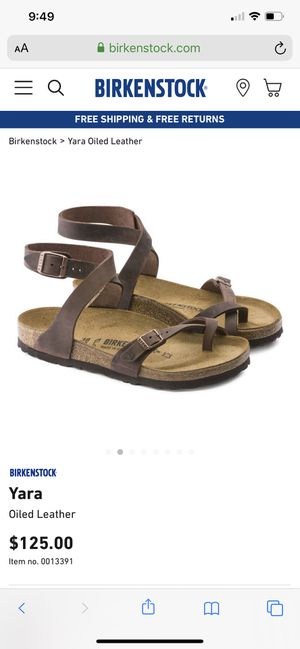 Birkenstock Yara for Sale in El Monte, CA