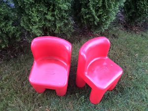 Little tikes red chair for kids for Sale in Palos Hills, IL
