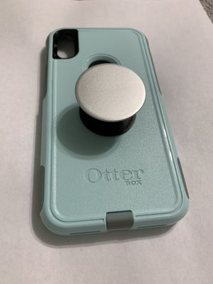 iPhone XR phone case, with pop socket. Otter box commuter, Brand new condition. for Sale in Payson, AZ