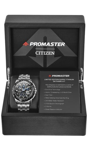 Citizens promaster titanium Skyhawk AT limited edition for Sale in Frederick, MD