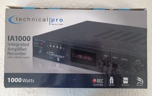New integrated amplifier recorder for 50$ for Sale in Alexandria, VA