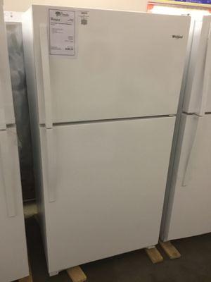 "NEW! Whirlpool White 33"" Top Mount Refrigerator Fridge! for Sale in Chandler, AZ"