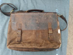 Leather messenger bag for Sale in Newport Beach, CA