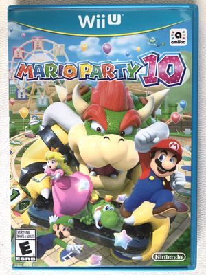 Mario Party 10 for Nintendo Wii U for Sale in Pembroke Pines, FL