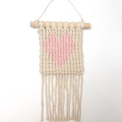 Heart Macrame Wall Hanging for Sale in Ontario,  CA