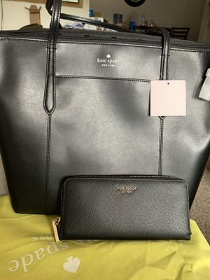Kate spade large bag and wallet for Sale in Spokane, WA