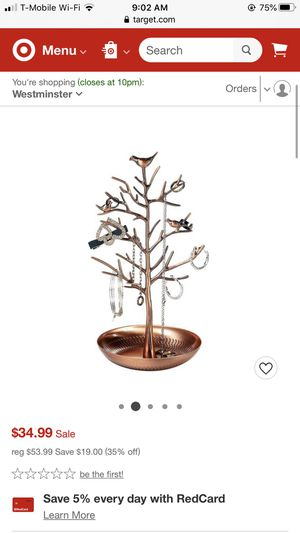 Jewelry tree for Sale in Laguna Niguel, CA
