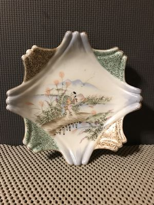 Antique Hand Painted Japanese Porcelain Plate for Sale in Kennesaw, GA