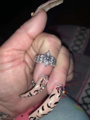 Sterling silver AAA CZ Beautiful ring for Sale in Las Vegas, NV