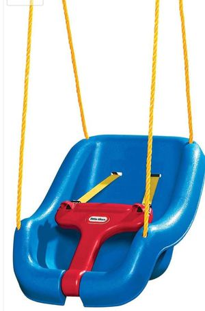 Little Tikes 2-in-1 Snug 'n Secure Swing, Blue for Sale in Detroit, MI