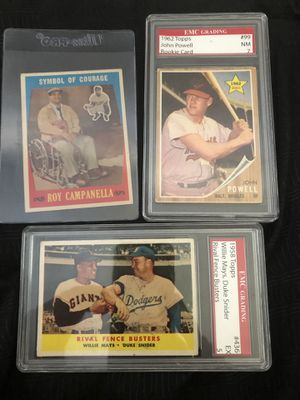 Vintage Topps Baseball cards for Sale in College Station, TX