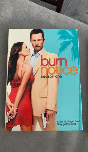 Burn Notice seasons 1-3 on dvd for Sale in Las Vegas, NV