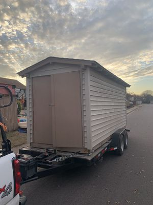 Utility Shed 6'x16'-On Trailer Ready to Deliver! for Sale in Watauga, TX