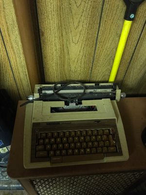 Old antique electra automatic type writer for Sale in Whiting, IN