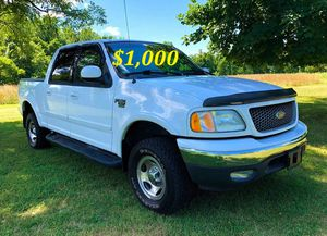 🟢💲1,OOO For sale URGENTLY this Beautiful💚2002 Ford F150 nice Family truck XLT Super Crew Cab 4-Door Runs and drives very smooth V8🟢 for Sale in Orlando, FL