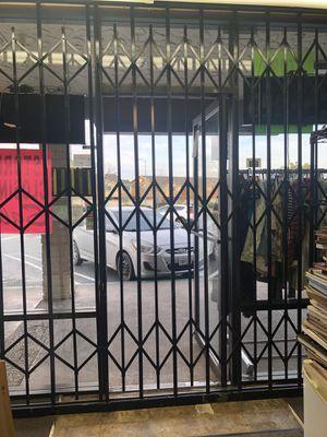 Accordion metal door for Sale in Pittsburg, CA