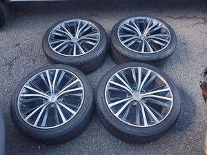 Infiniti Nissan Q50 Q60 19 inch rims wheels tires set for Sale in Parsippany, NJ