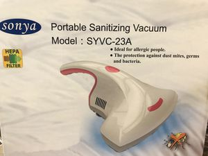 Portable sanitizing vacuum for Sale in Rancho Cucamonga, CA