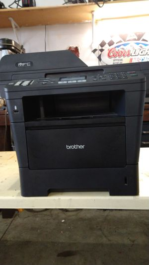 Mfc Brothers laser printer scanner fax all in one for Sale in Vancouver, WA